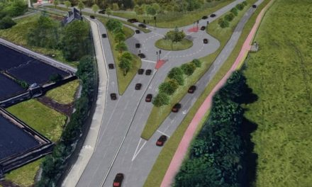 New-look Cooper Bridge roundabout revealed by Kirklees Council