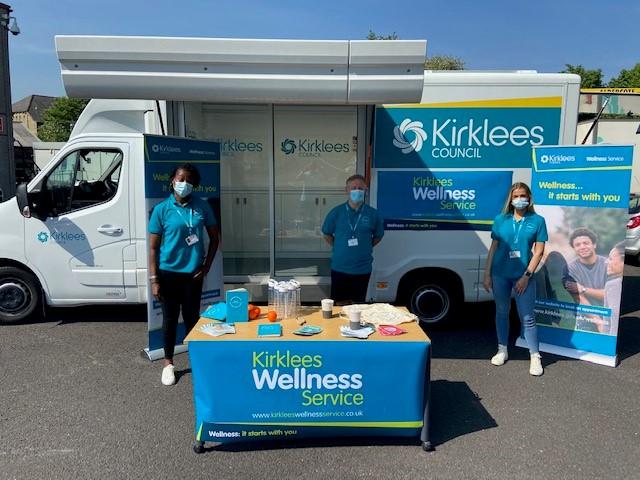 Wheelie good way to promote wellness drive