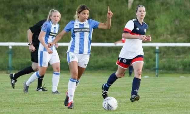 Police cop for it as Fletch double seals 4-0 win for Huddersfield Town Women FC