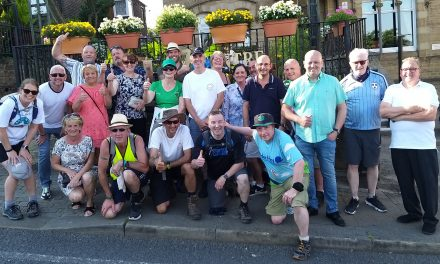 The Gathering Walk raises £2k to 'help people reach the light at the end of the tunnel'