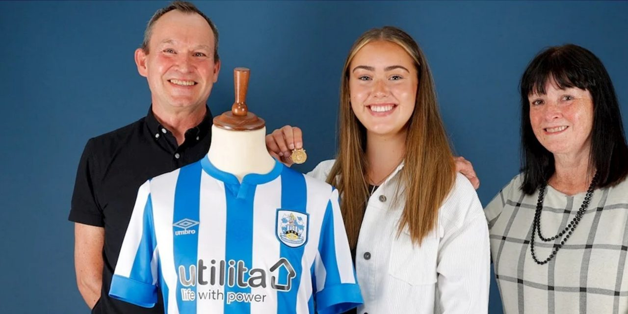 Family of Billy Smith show pride in new Huddersfield Town shirt which bears his name