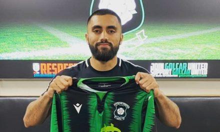 Golcar United new boy Dan Naidole says mid-table mediocrity isn't for him
