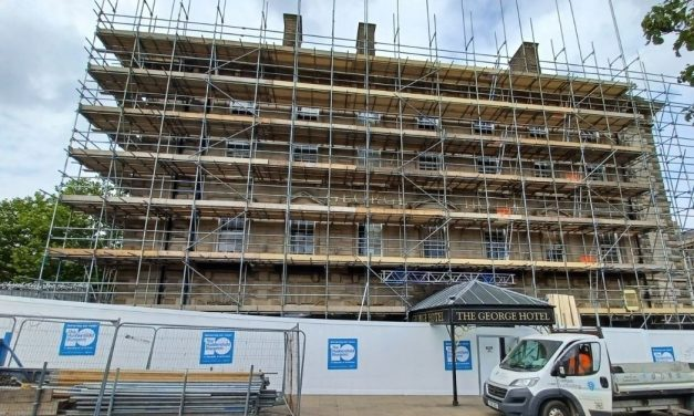 Huddersfield Blueprint: Latest on 'mystery' building, car park demolition and scaffolding on the George hotel