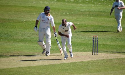 Eight-wicket hurrah for Muhammad Azharrullah as Hoylandswaine power on at the top