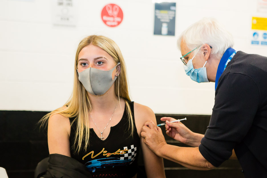 Six drop-in vaccination centres where you can jab and go
