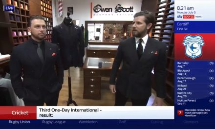 Mystery TV star to wear 'It's Coming Home' suit made in Huddersfield