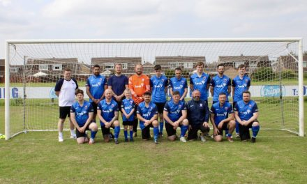 Great win for Sands United the football club that helps men who have suffered the trauma of losing a baby
