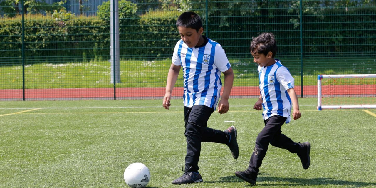Huddersfield Town Foundation soccer summer camps are perfect for keeping kids active over the school holidays