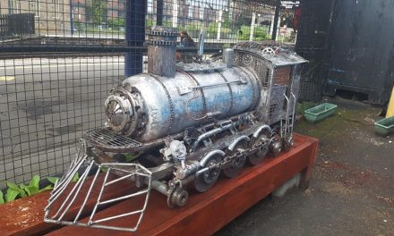 Platform 1's amazing scrap metal train that's more than the sum of its parts