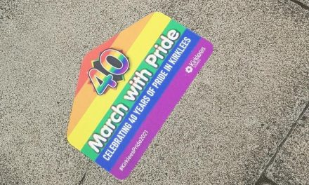 Rainbow colours celebrate first ever Pride march in Huddersfield 40 years on
