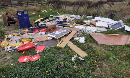 Odd job man fined for dumping waste at Meltham and Saddleworth Moor