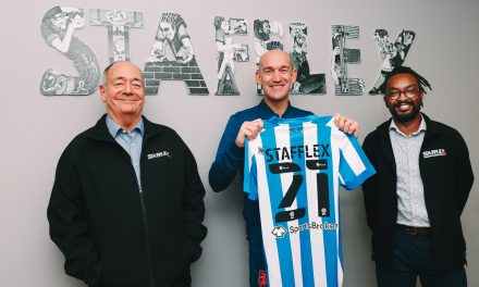 Stafflex supports Huddersfield Town on and off the field and extends partnership into a 15th year
