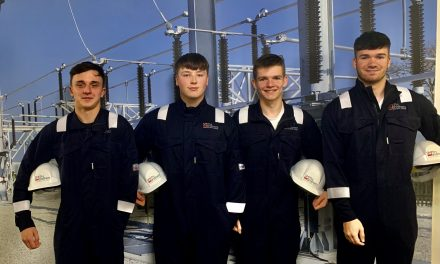 Electrical engineering firm Smith Brothers welcomes four apprentices