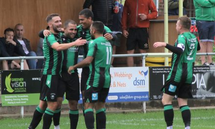 Ash Flynn hails dressing room spirit at Golcar United as one of the best he's known