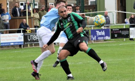 Ash Flynn proves where there's a will there's a way to win as Golcar United go back top