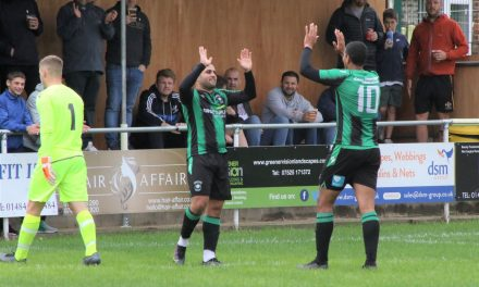Golcar United's players are not just teammates they are friends reunited says hattrick hero Ash Flynn