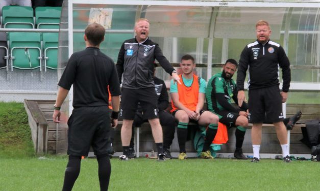 Golcar United boss Ash Connor backs players to bounce back from Bury 'blip'