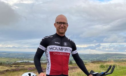 Cyclist Lee Brown found a pretty extreme way to get fit after lockdown