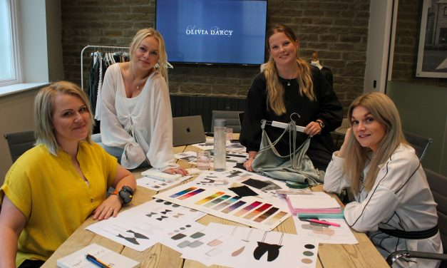 Into the Spotlight – Graduate duo launch sustainable womenswear brand, Olivia Darcy, in the heart of Huddersfield