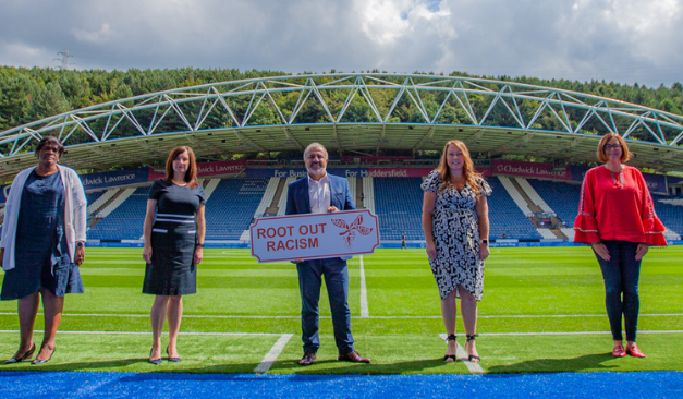 Campaign to root out racism kicks off at the John Smith's Stadium