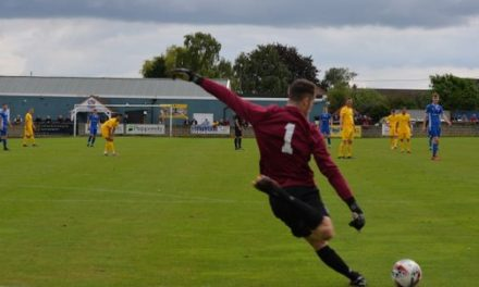 Emley AFC's Liam Lovell is penalty save hero in first match of the season