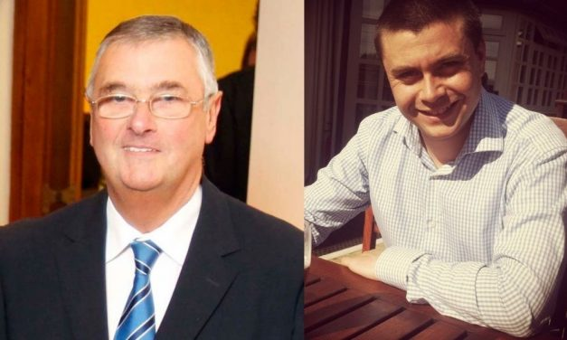 Trevor Atkinson and Chris Ridler go head to head for role of chairman at Huddersfield Cricket League