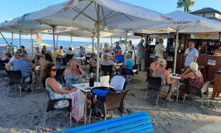 Brian Hayhurst is back in Spain and finds the Costa del Sol full of staycationers