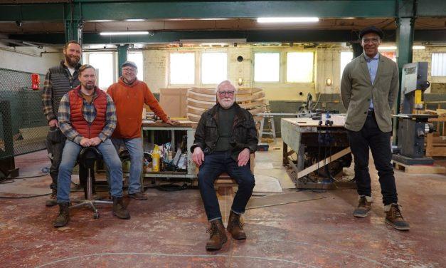 Bob Morse 'Mr Bob' of Platform 1 to appear with Jay Blades on Jay's Yorkshire Workshop
