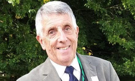 BBC Radio Leeds gardening expert Graham Porter is awarded the RHS Harlow Carr Medal of Service for Horticulture in the North of England