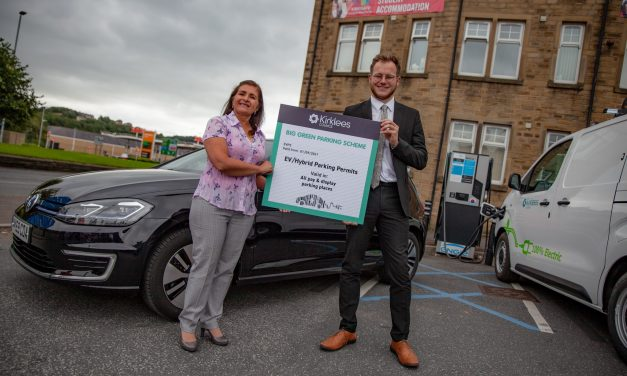 Free parking for drivers of electric cars in all Kirklees Council car parks