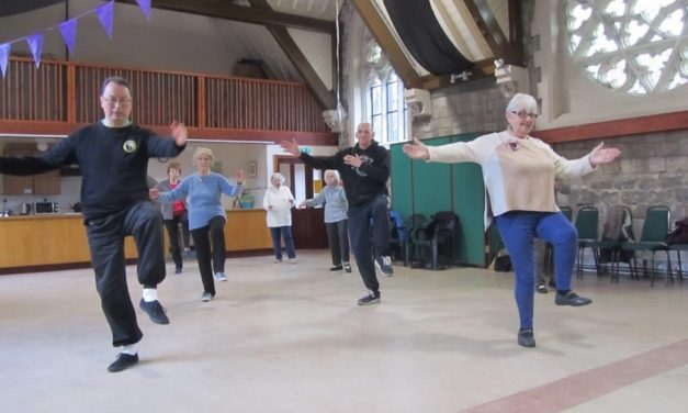 Age UK Calderdale and Kirklees hold Tai Chi sessions in Huddersfield and Halifax