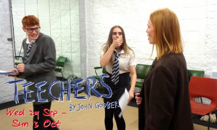 Huddersfield Thespians back on stage with John Godber's 'Teechers' at the Lawrence Batley Theatre