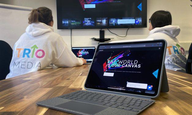 Award-winning agency Trio Media delivers distinctive website design for Leach