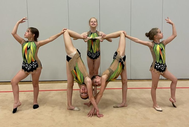 White Rose Rhythmic Gymnastics Club is flying the flag for a demanding Olympic sport that's more than just 'dancing with ribbons'