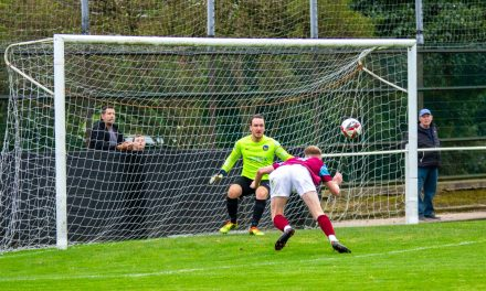 Emley AFC find their six appeal after spanking Bottesford Town with quickfire hattrick from Matty Sykes