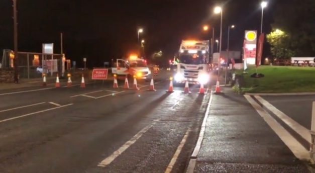 Overnight road closures on A62 and Cooper Bridge as two-month resurfacing scheme gets underway