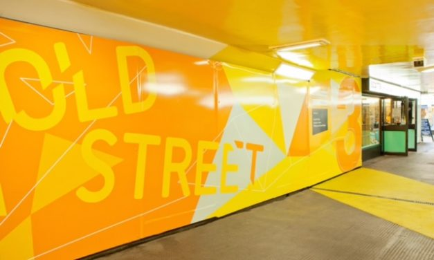 Bright and bold new look for dismal underpass in Huddersfield town centre