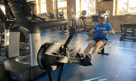 Vapour boss Tim Mercer has swapped jungle for the gym to help raise £23k for the charity Borne