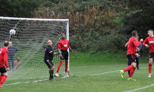 Cameron Wilkey can't stop scoring, Grange Moor Saints won 14-0 and a penalty marathon ended 11-10